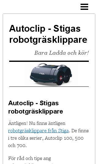Mobile preview of autoclip.nu