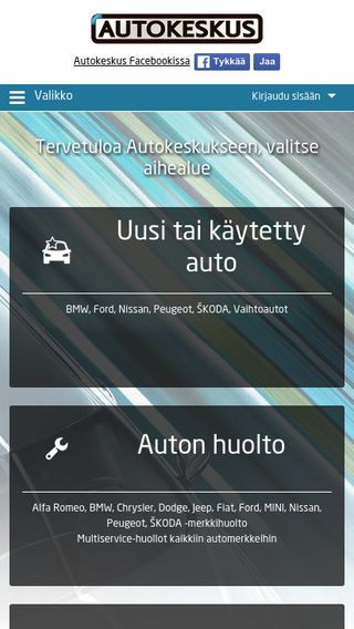 Mobile preview of ostaamyy.fi