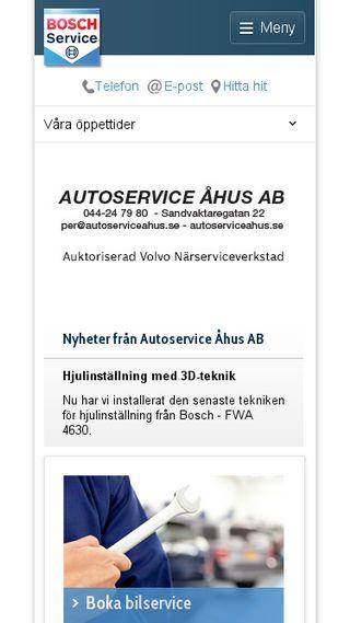 Mobile preview of autoserviceahus.se