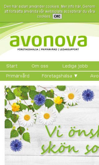Mobile preview of avonova.se