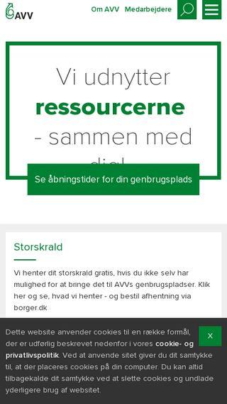 Mobile preview of avv.dk