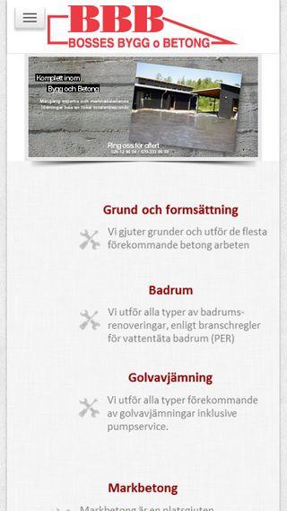 Mobile preview of b-b-b.se