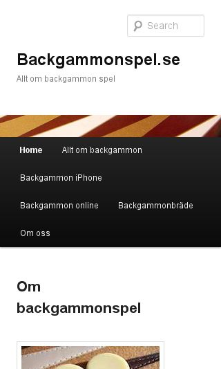 Mobile preview of backgammonspel.se