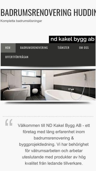Mobile preview of badrumsrenoveringhuddinge.se