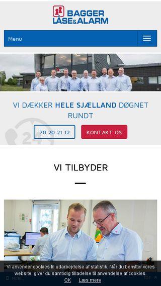 Mobile preview of bagger-laase.dk