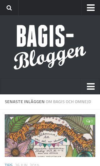 Mobile preview of bagisbloggen.se