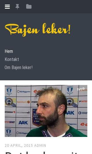 Mobile preview of bajenleker.se