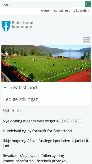 Mobile preview of balestrand.kommune.no