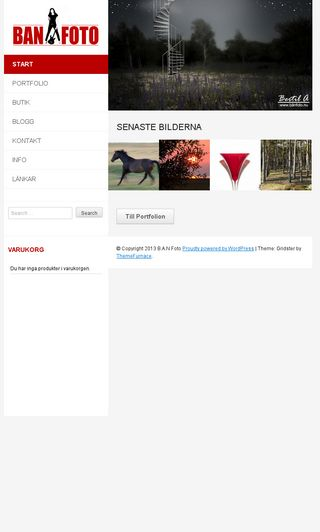 Mobile preview of banfoto.nu