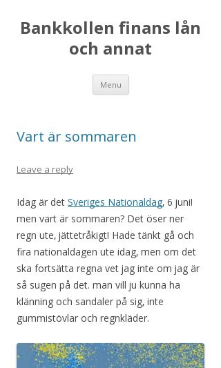 Mobile preview of bankkollen.se