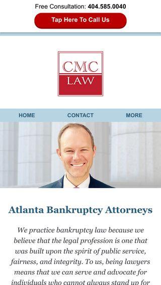 Mobile preview of bankruptcylawyeratlantageorgia.com
