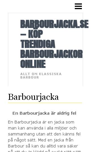 Mobile preview of barbourjacka.se