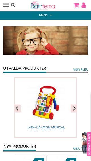 Mobile preview of barntema.se