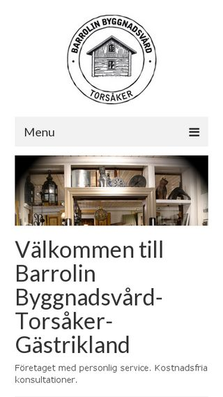 Mobile preview of barrolin.se