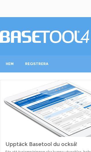 Mobile preview of basetool.se