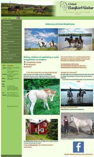 Mobile preview of basjkirhastar.se