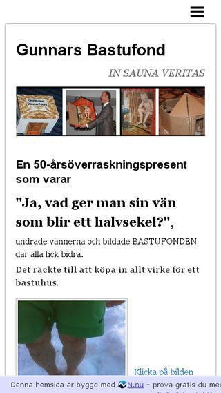 Mobile preview of bastufonden.n.nu