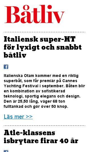 Mobile preview of batliv.se