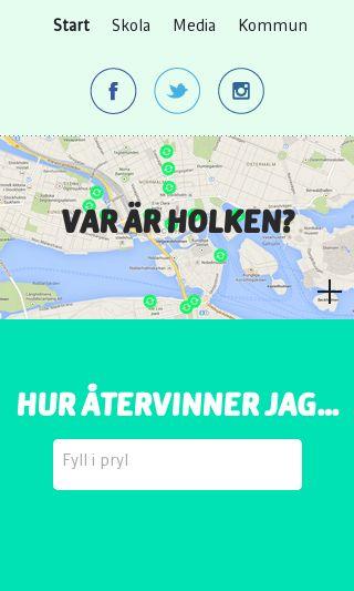 Mobile preview of batteriatervinningen.se