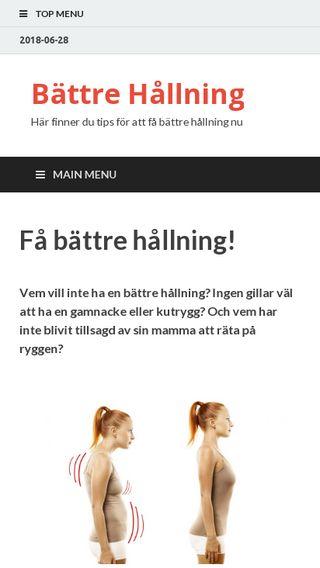 Mobile preview of battre-hallning.se