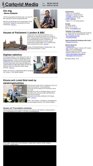 Mobile preview of bcmedia.se
