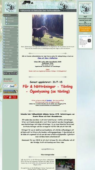 Mobile preview of bdvk.se