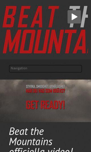 Mobile preview of beatthemountain.se