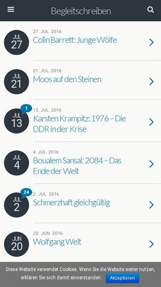 Mobile preview of begleitschreiben.net