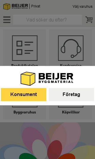 Mobile preview of beijerbygg.se