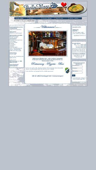 Mobile preview of bellamare.se