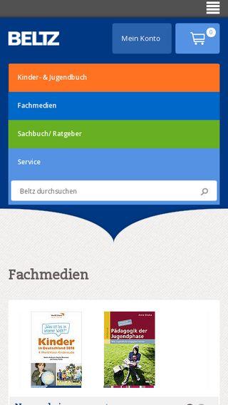 Mobile preview of buecherparadies-blog.de