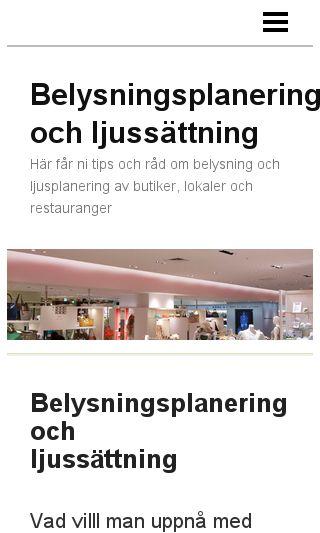 Mobile preview of belysningsplanering.se