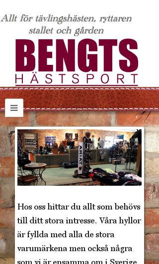 Mobile preview of bengtsfoder.se