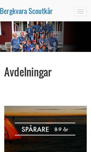 Mobile preview of bergkvarascoutkar.se