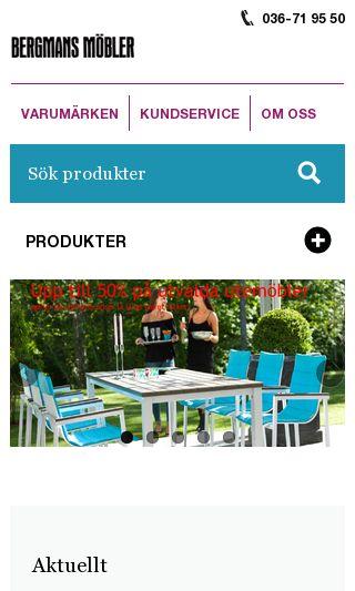 Mobile preview of bergmansmobler.se