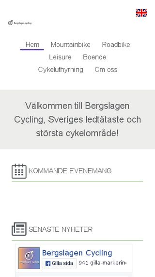 Mobile preview of bergslagencycling.se