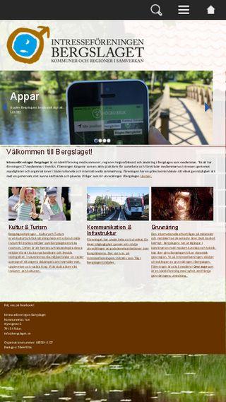 Mobile preview of bergslaget.se