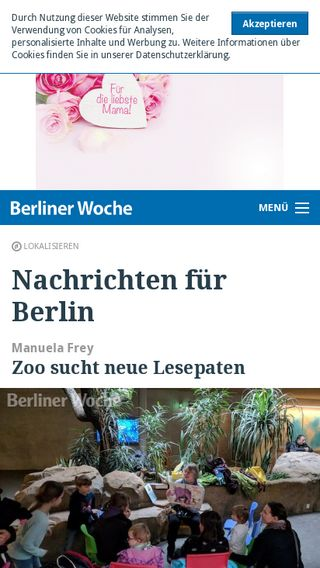 Mobile preview of berliner-woche.de