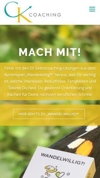 Mobile preview of berufliche-neuorientierung.net