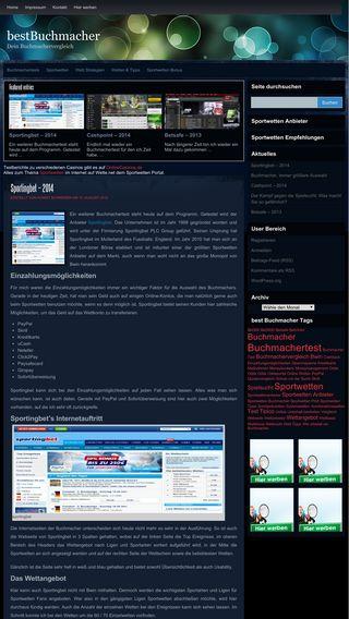 Mobile preview of best-buchmacher.de