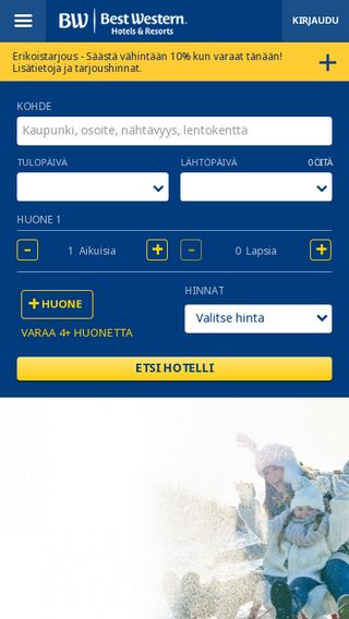 Mobile preview of bestwestern.fi
