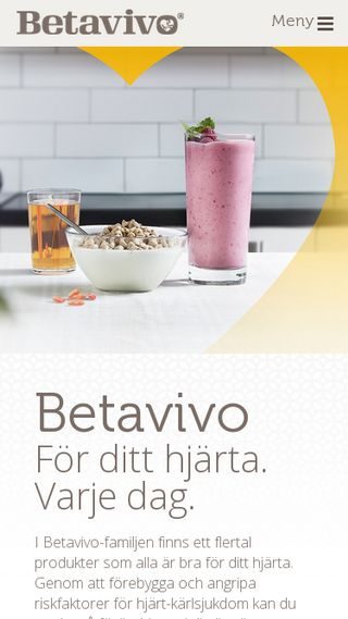 Mobile preview of betavivo.se