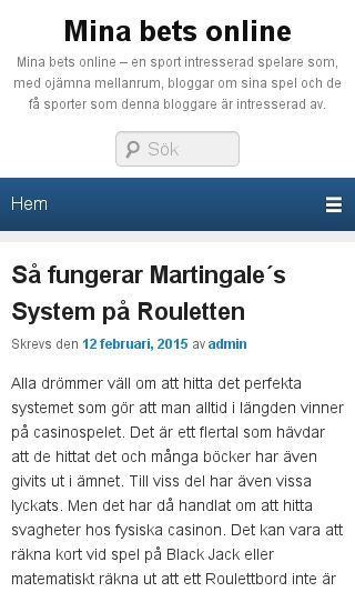 Mobile preview of betsonline.se