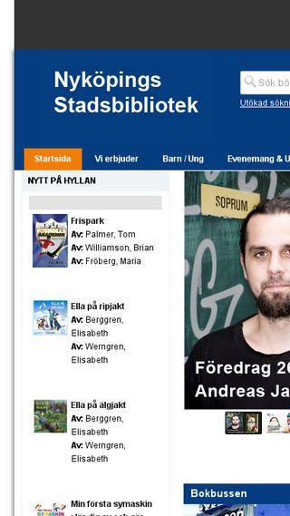 Mobile preview of bibliotek.nykoping.se