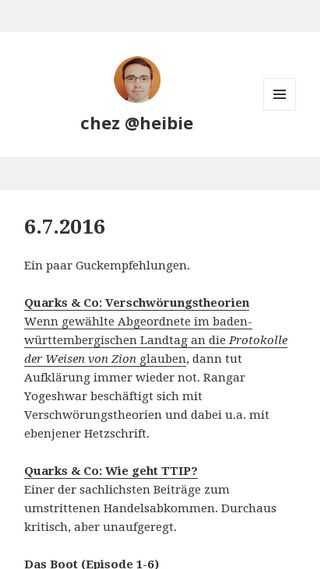 Mobile preview of bielinski.de