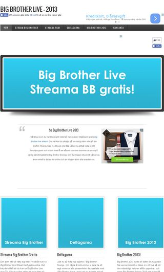 Mobile preview of bigbrotherlive.se