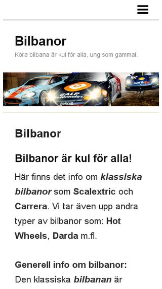 Mobile preview of bilbanor.n.nu
