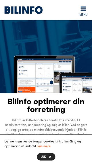 Mobile preview of bilinfo.dk