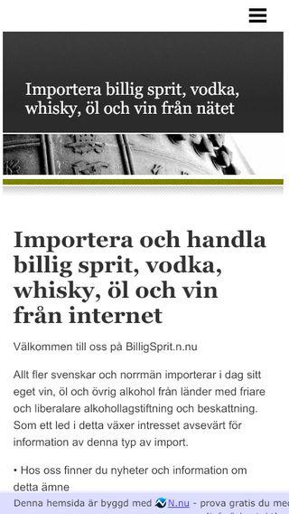 Mobile preview of billigsprit.n.nu