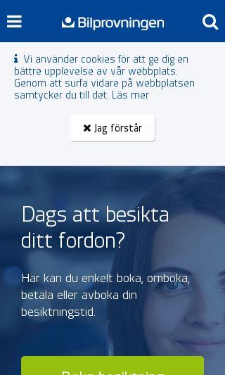 Mobile preview of bilprovningen.se